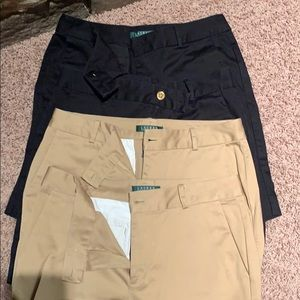 4 pair of shorts